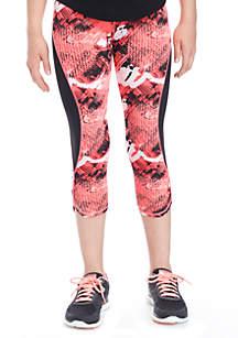 Girls 7-16 Printed Capri Pants