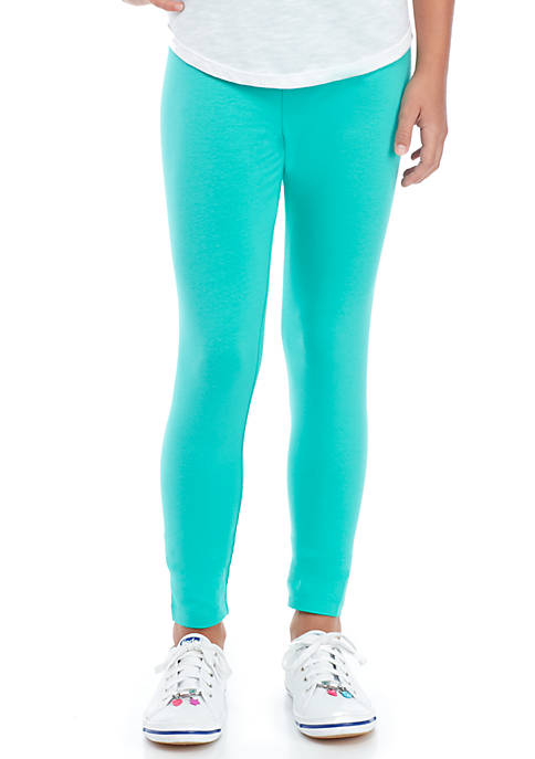 Crown & Ivy™ Girls 7-16 Solid Leggings