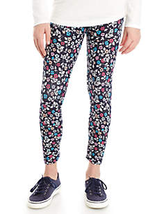 Crown & Ivy™ Girls 7-16 Allover Floral Leggings