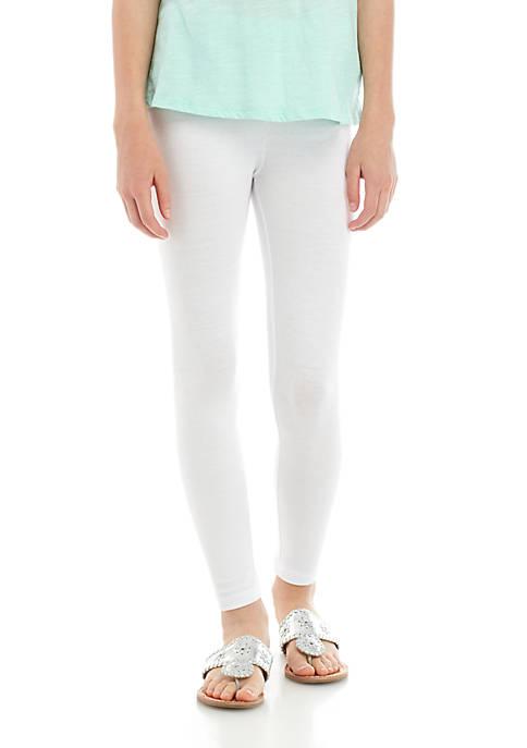 Crown & Ivy™ Girls 7-16 Solid Leggings