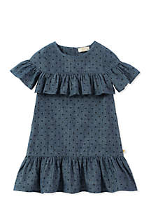 Toddler Girls Ruffle Dress