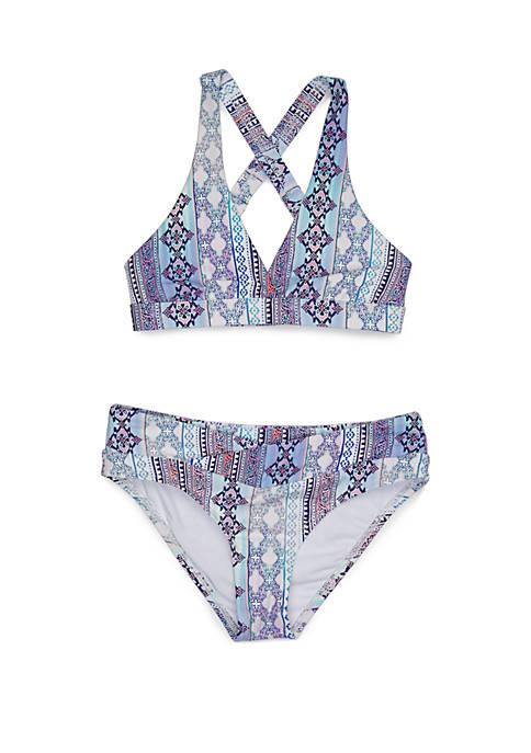 Next Girls Girls 7-16 Stargazing Surplice Halter Bikini