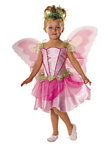 Rubie's Girls 7-16 Pink Butterfly Fairy Costume