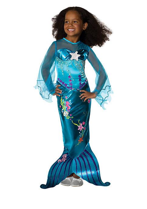 Rubie's Girls 4-6x Magical Mermaid Costume