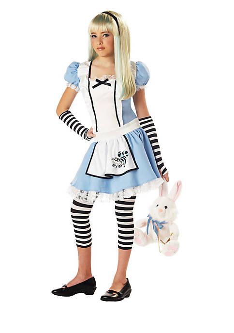 Rubie's Girls 7-16 Alice Tween Costume