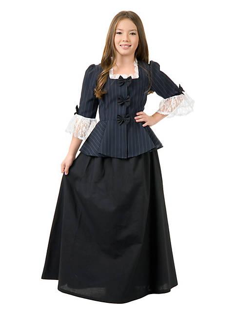 Rubie's Girls 7-16 Colonial Girl Costume