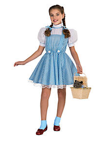 GIrls 7-16 The Wizard of Oz Dorothy Deluxe Child Costume