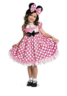 Rubie's Girls 7-16 Disney Mickey Mouse Clubhouse Pink Minnie Mouse Glow in the Dark Child Costume