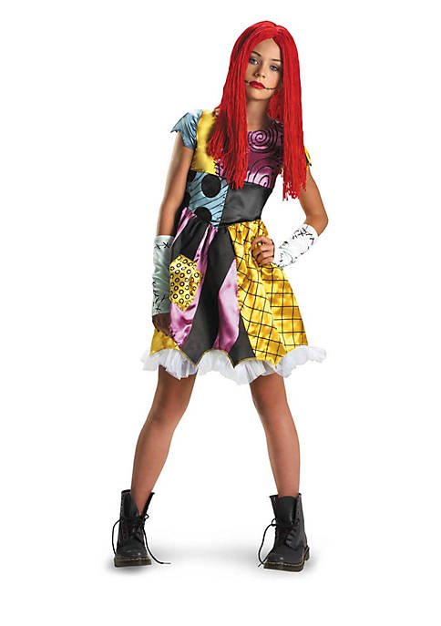 Girls 7-16 The Nightmare Before Christmas Sally Costume