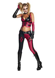 Rubie's Batman Arkham City Secret Wishes Harley Quinn Adult Costume
