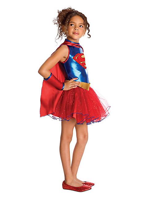 Girls 7-16 Supergirl Tutu Costume
