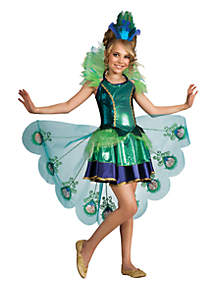 Rubie's Girls 7-16 Peacock Girl Costume