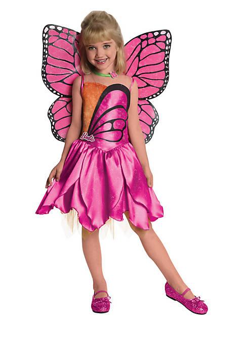 Rubie's Girls 4-6x Barbie-Deluxe Mariposa Costume