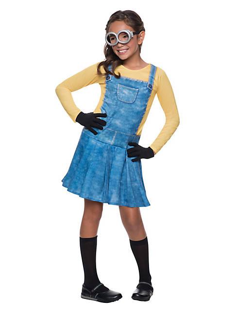 Rubie's Girls 7-16 Minions Movies Female Minion Costume