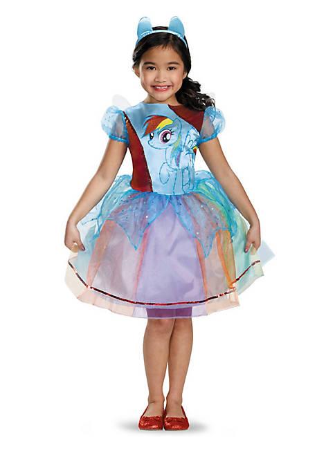 Girls 7-16 My Little Pony Rainbow Dash Deluxe Costume