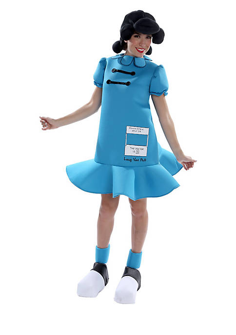 Rubie's Peanuts Lucy Deluxe Adult Costume