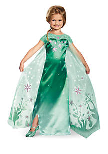 Rubie's Girls 7-16 Elsa Frozen Fever Deluxe Costume