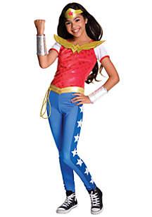 Girls 7-16 DC Superhero Girls Wonder Woman Deluxe Costume