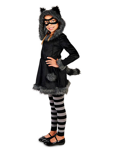 Rubie's Girls 4-6x Raccoon with Tights Costume