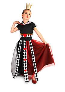 Girls 7-16 Queen of Hearts Costume