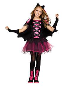 Girls 7-16 Bat Queen Costume