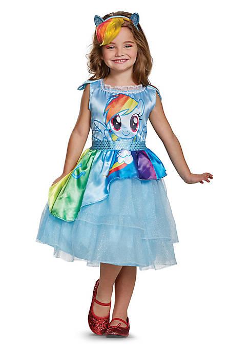 Rubie's Girls 4-6X My Little Pony Rainbow Dash