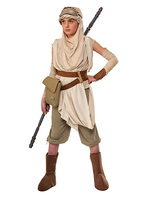 Girls 7-16 Star Wars The Force Awakens Premium Rey Costume