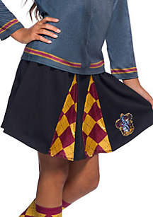 Rubie's Girls 7-16 The Wizarding World Of Harry Potter Gryffindor Skirt