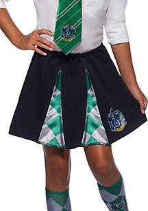 Rubie's Girls 7-16 The Wizarding World Of Harry Potter Slytherin Skirt