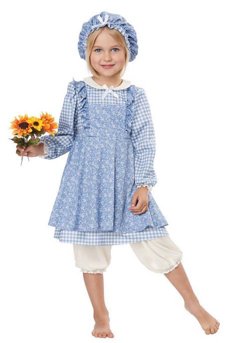 California Costumes Girls 7-16 Little Prairie Girl Costume