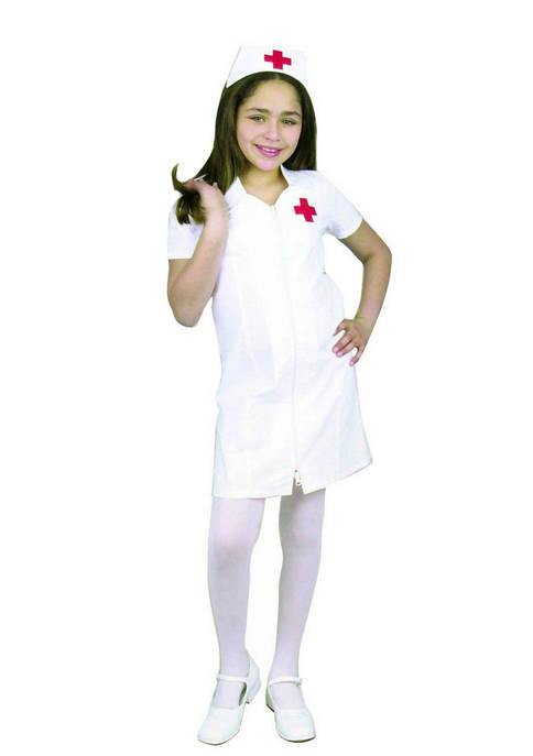 Charades Girls 7-16 Registered Nurse Costume