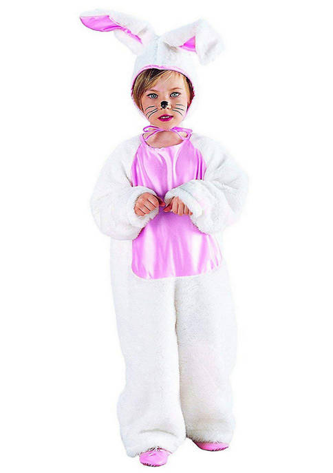 Charades Little Kids Plush Bunny Costume