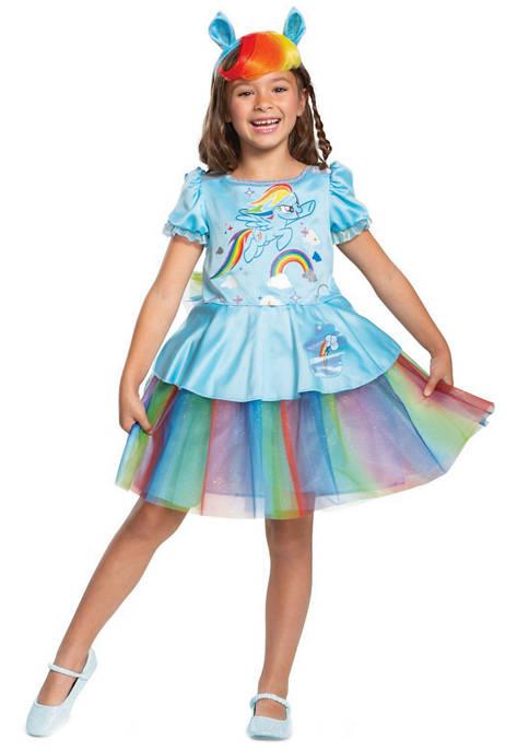Disguise Girls 7-16 Rainbow Dash Tutu Deluxe Costume