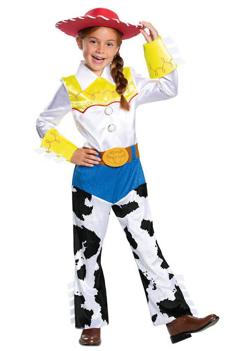 Disguise Girls 4-6 Toy Story 4: Jessie Deluxe
