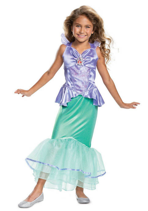 Disguise Girls 7-16 Ariel Classic Costume