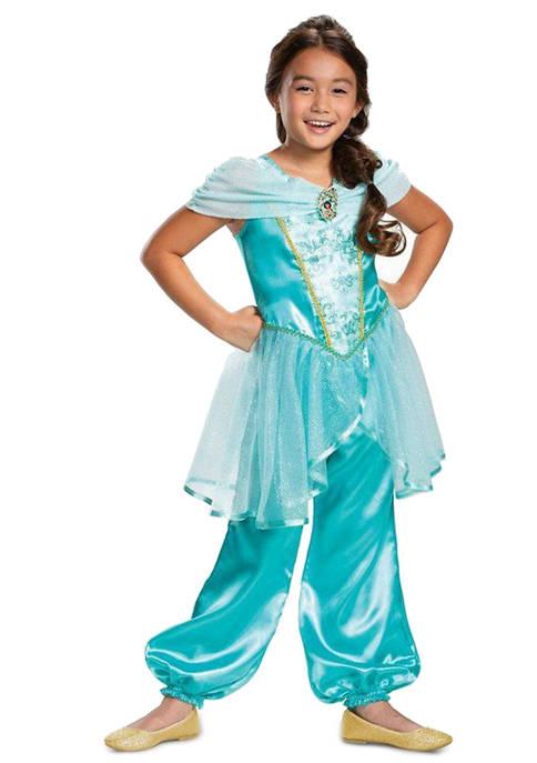 Disguise Girls 7-16 Aladdin: Jasmine Classic Costume