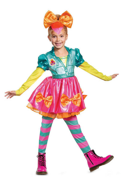 Disguise Girls 4-6x L.O.L Neon Qt Deluxe Costume