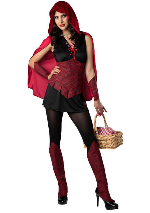 In Character Adult Dark Forest Red Riding Hood