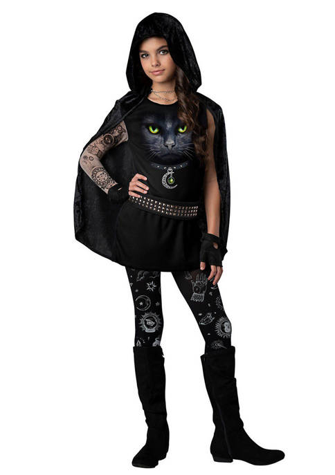 In Character Girls 7-16 Covens Rebel Costume