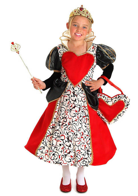 Princess Paradise Girls 7-16 Queen Charlotte Costume