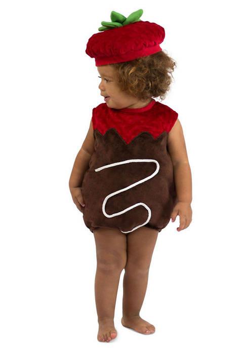 Princess Paradise Girls 4-6x Chocolate Strawberry Costume