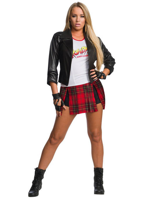 "Rubie's Adult WWE ""Rowdy"" Ronda Rousey Costume"