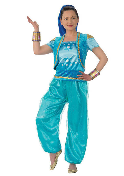 Rubie's Adult Shimmer & Shine Deluxe Costume