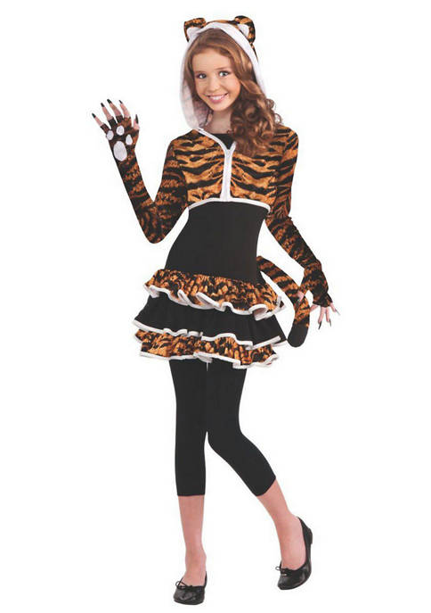 Girls 7-16 Tigress Teen Costume