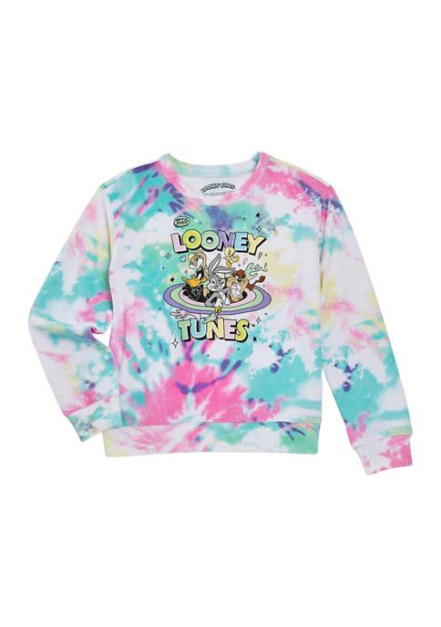 Girls 7-16 Looney Tunes Long Sleeve Sweatshirt
