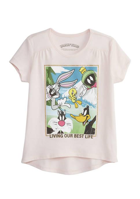 Girls 7-16 Tweety and Crew Graphic T-Shirt
