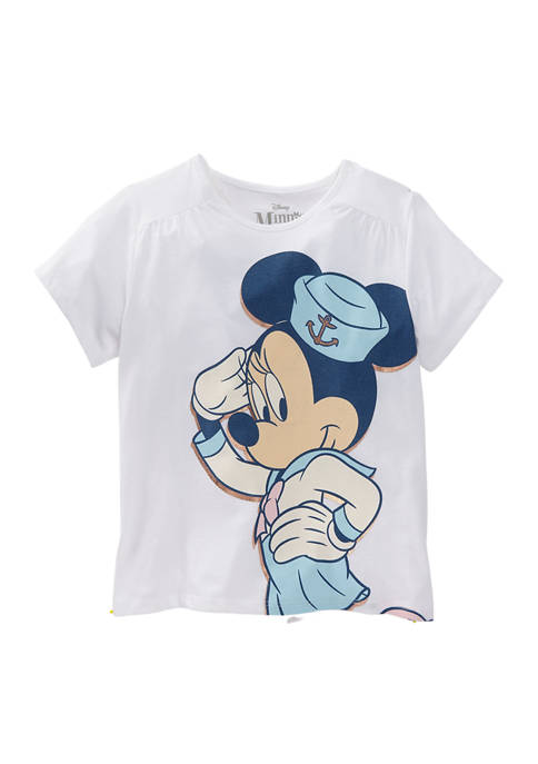 Disney® Minnie Girls 7-16 Nautical Explorer Short Sleeve