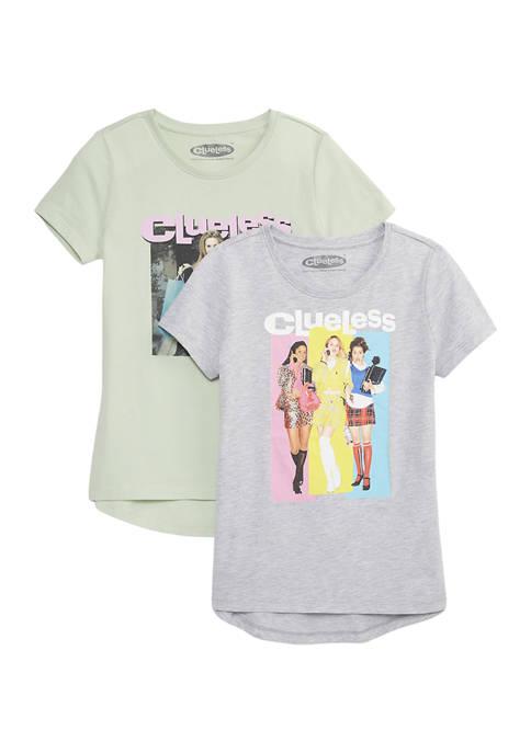 Girls 7-16 2 Pack Graphic T-Shirts