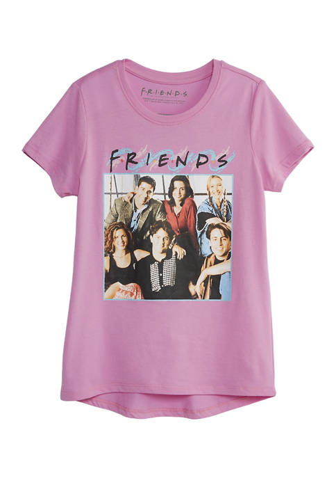 Girls 7-16 Short Sleeve Licensed Graphic T-Shirt