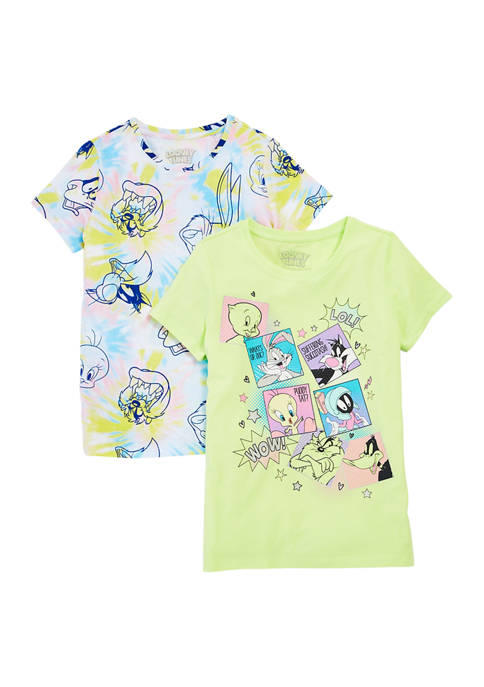 Girls 7-16 2 Pack Licensed T-Shirts